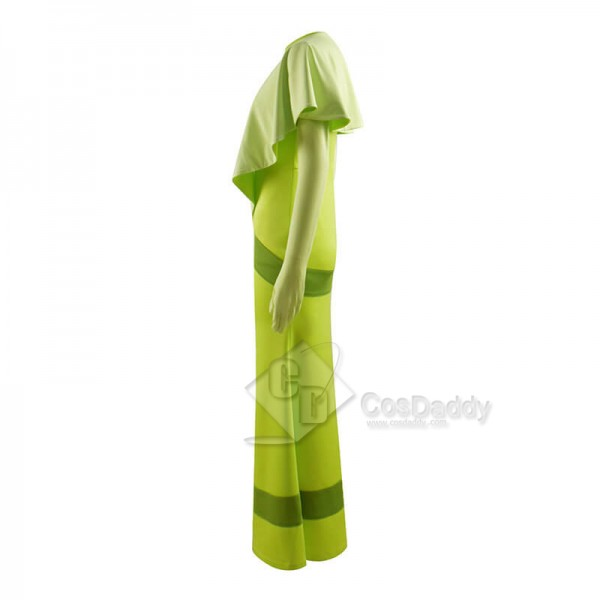 Disney Princess and the Frog Princess Tiana Green Dress Cosplay Costumes CosDaddy