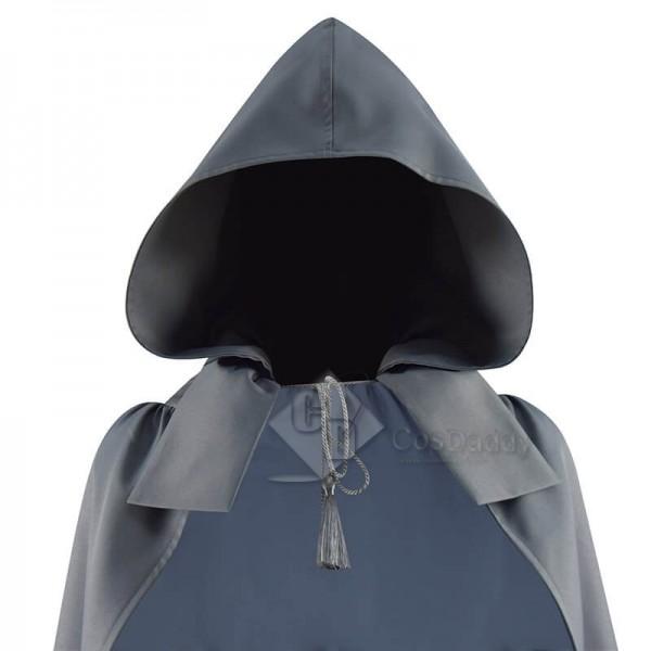 Doctor Who A Christmas Carol Abigail Pettigrew Grey Cloak Cosplay Costume