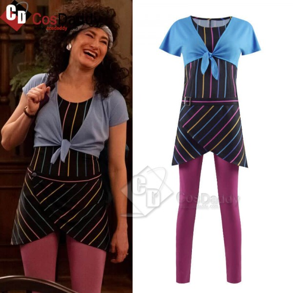 Wandavision 80s Agnes Outfit Cosplay Costume CosDa...
