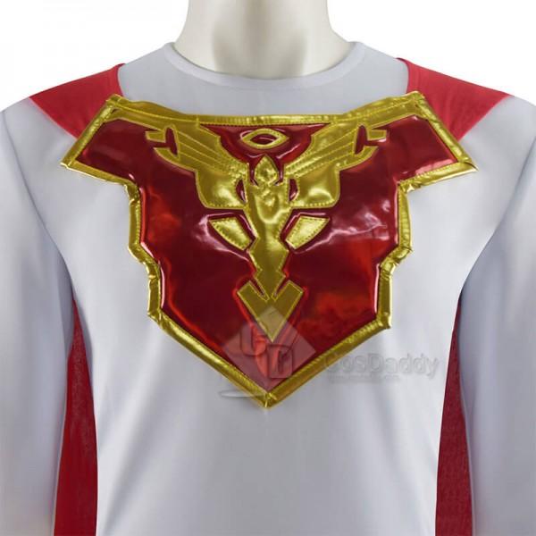 Jupiter's Legacy 2021 Sheldon Sampson Superhero White Suit Cosplay Costumes