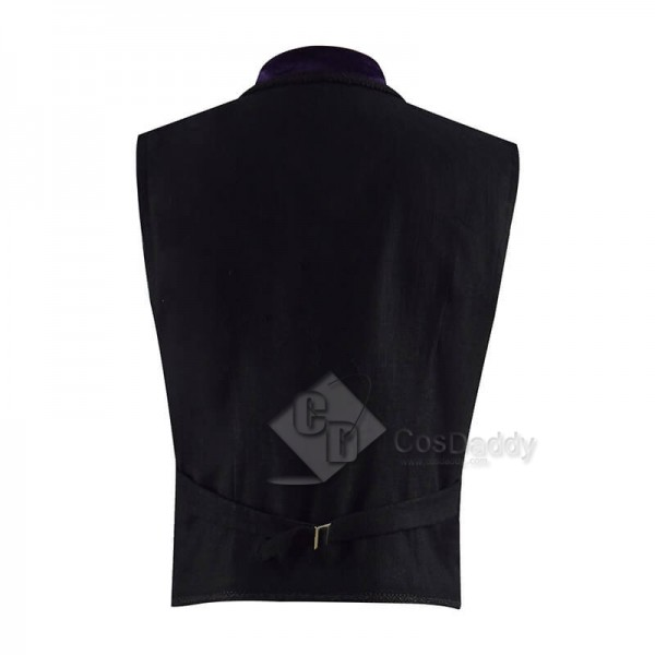 11th Doctor Purple Velvet Waistcoat Matt Smith Eleventh Doctor Costume CosDaddy