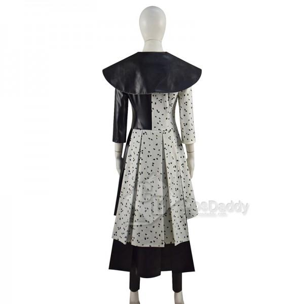 Cruella Costume 2021 Emma Stone Punk Fashion Cosplay Costumes Ideas