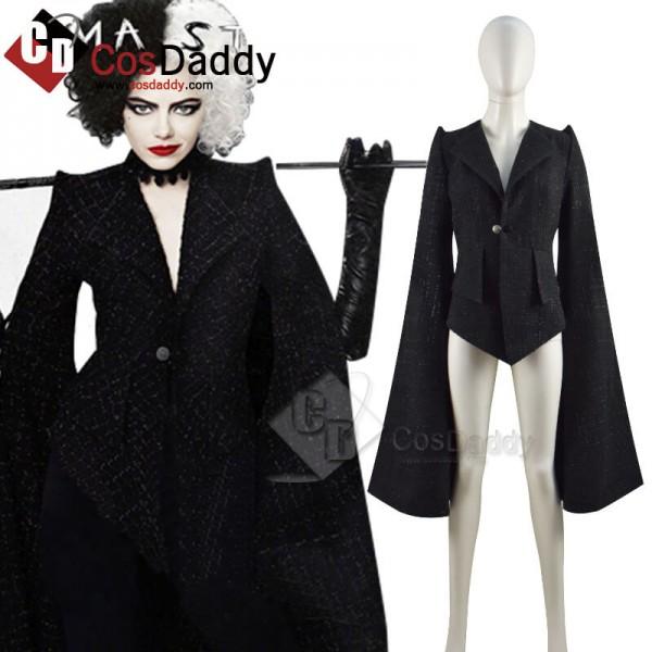 Cruella Costumes 2021 Cruella De Vil Emma Stone Bl...
