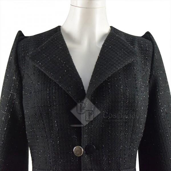 Cruella Costumes 2021 Cruella De Vil Emma Stone Black Coat Cosplay Ideas
