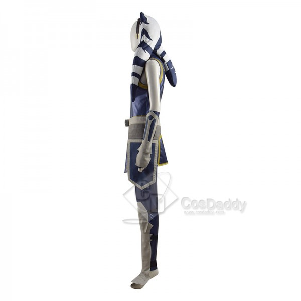 Star Wars The Clone Wars Season 7 Ahsoka Tano Cosplay Costume Halloween Carnival Suit