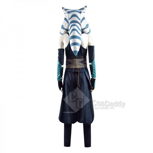 Ahsoka Tano Cosplay Costume The Mandalorian Season 2 Ahsoka Top Pants Outfit