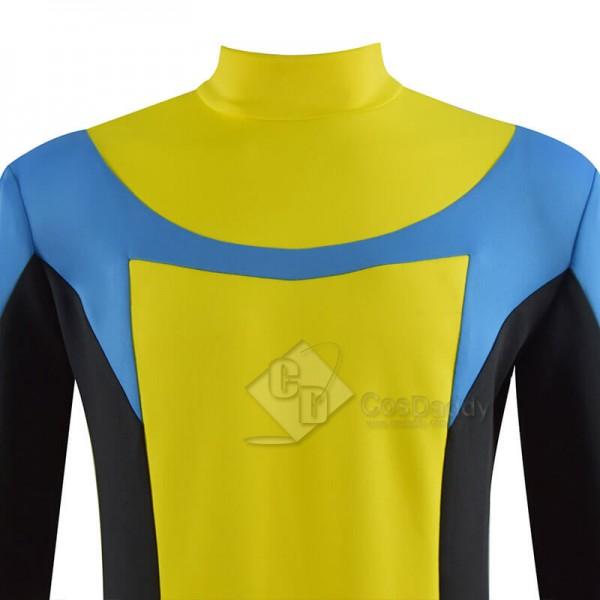 Invincible Mark Grayson Superhero Costume Cosplay Bodysuit