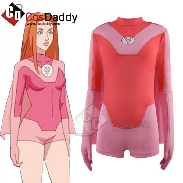 Invincible Atom Eve Costumes Cosplay Suit Women Ha...