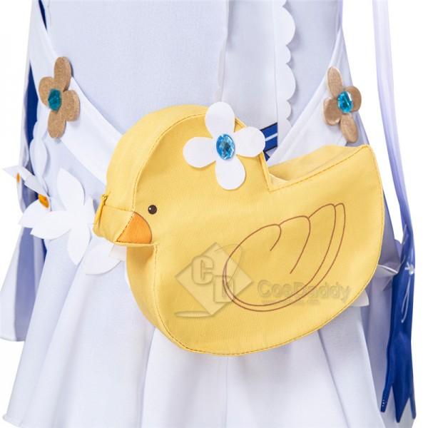 Genshin Impact Barbara Cosplay Costume Summertime Fashion Suits