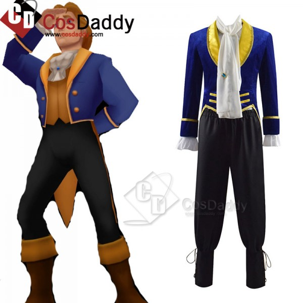 Disney Movie Beauty and the Beast Prince Adam Cosp...
