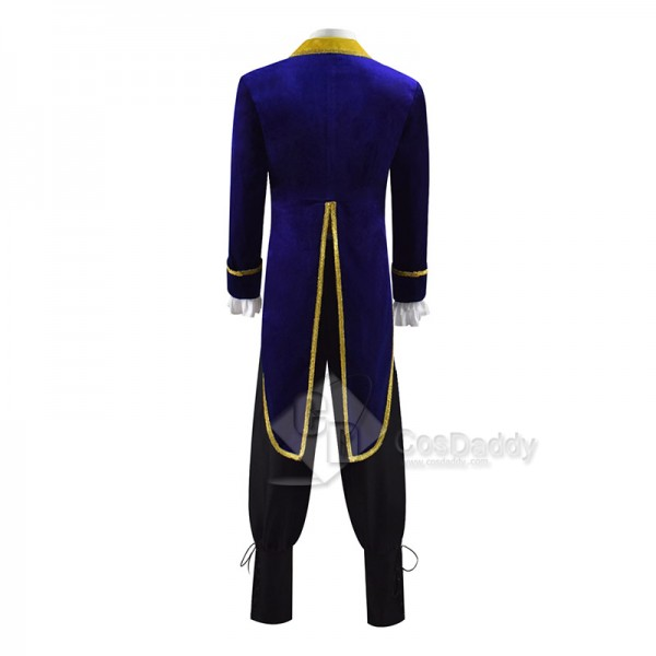 Disney Movie Beauty and the Beast Prince Adam Cosplay Costume Halloween Outfit