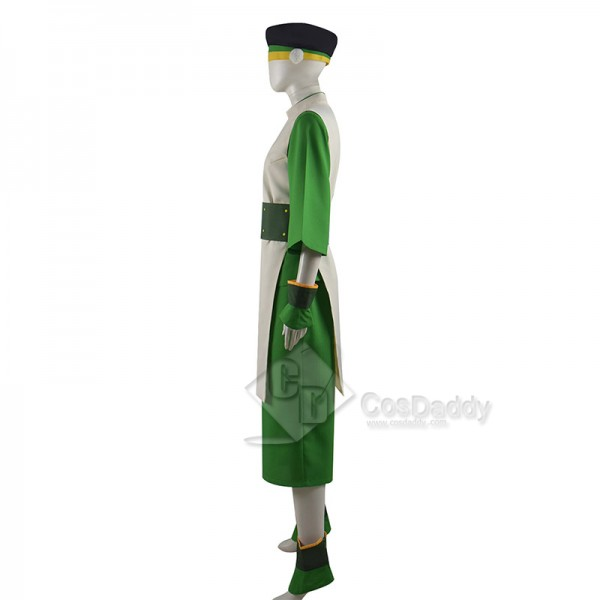 Avatar: The Last Airbender Toph Bengfang Cosplay Costume Outfits Halloween Carnival Suit