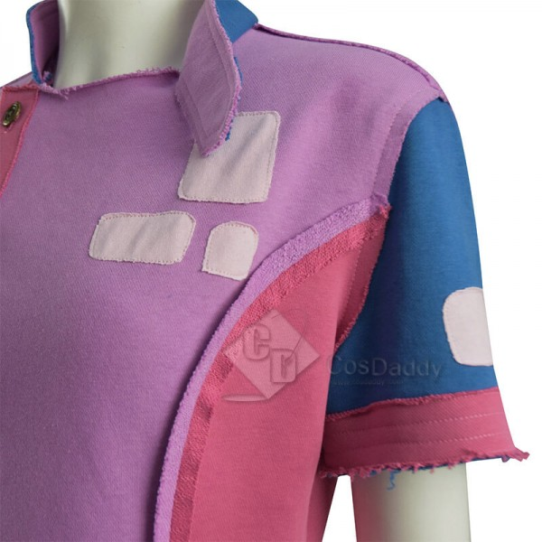 Doctor Who New Earth Rose Tyler Shirt Cosplay Costume