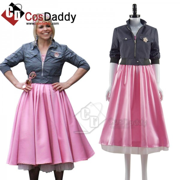 Doctor Who New Earth Rose Tyler Pink Dress and Jac...