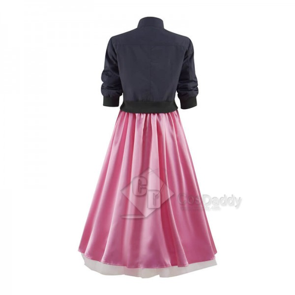 Doctor Who New Earth Rose Tyler Pink Dress and Jacket CosDaddy