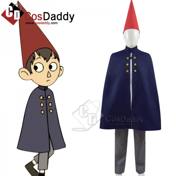 Over the Garden Wall Wirt Mantle Cape Cosplay Cost...