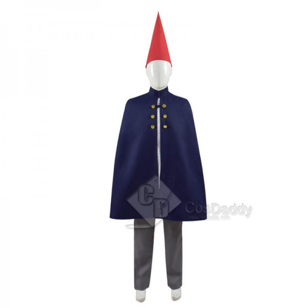 Over the Garden Wall Wirt Mantle Cape Cosplay Costumes With Hat Kids Adults