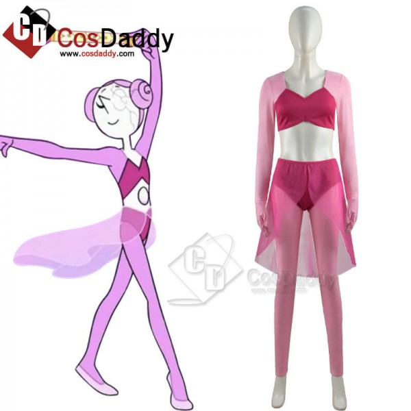 2021 Steven Universe Future Pink Pearl Cosplay Cos...