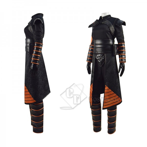 Star Wars The Mandalorian Fennec Shand Cosplay Costume Halloween Outfit