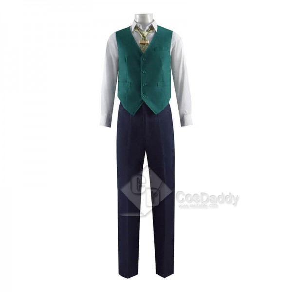 2021 TV Loki Uniform Cosplay Costume Halloween Outfit(Navy Blue Version)