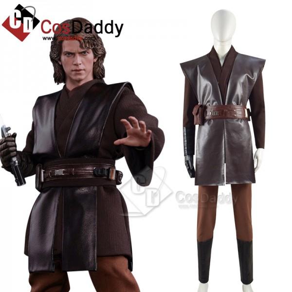 Star Wars Jedi Anakin Skywalker Cosplay Costume Ha...