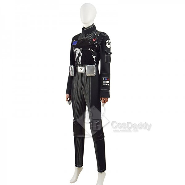 Star Wars Jyn Erso Cosplay Costume Pilot Jumpsuit Romper Halloween Carnival Suit