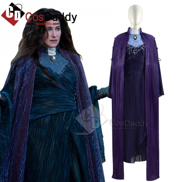 WandaVision Agnes Agatha Harkness Cosplay Costume...