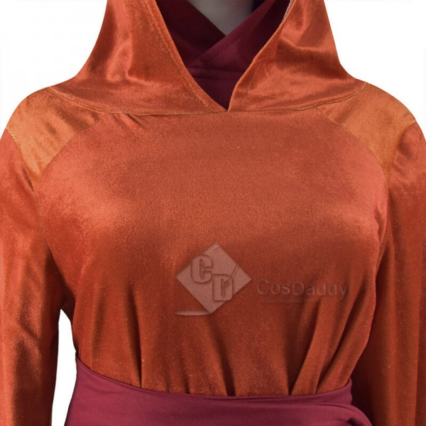 Star Wars Episode 1: The Phantom Menace Queen Padme Amidala Halloween Cosplay Costume Outfit