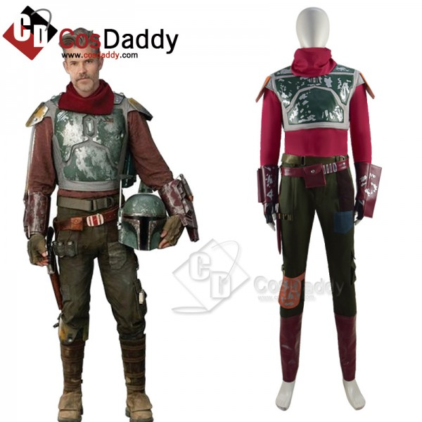 Star Wars Mandalorian S2 Cobb Vanth Cosplay Costum...