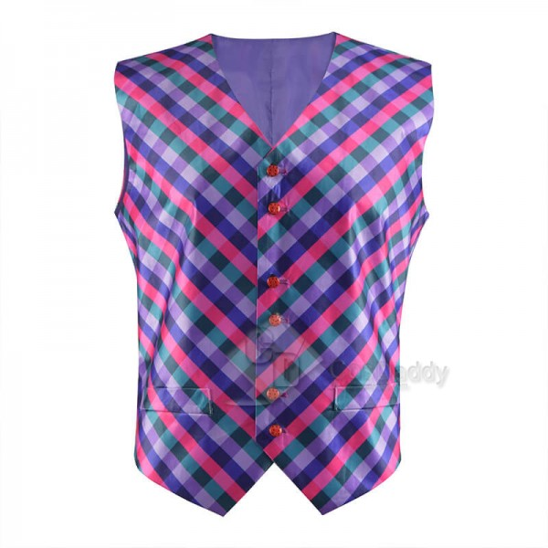 CosDaddy Doctor Who 6th Doctor Waistcoat Sixth Doc...