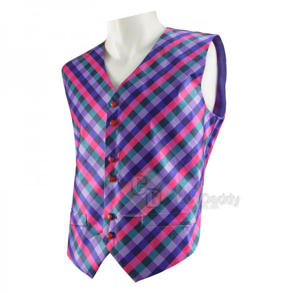 CosDaddy Doctor Who 6th Doctor Waistcoat Sixth Doctor Vest Cosplay Costume