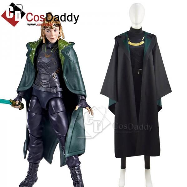 Lady Loki Sylvie Enchantress Cosplay Costume Loki ...