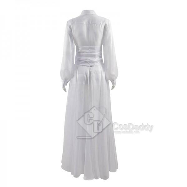 Wonder Woman 1984 Diana Prince White Dress Cosplay Costumes Halloween Women Dress