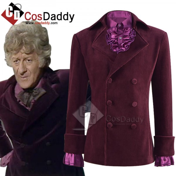 Third 3rd Doctor Planet of the Daleks Jacket Docto...