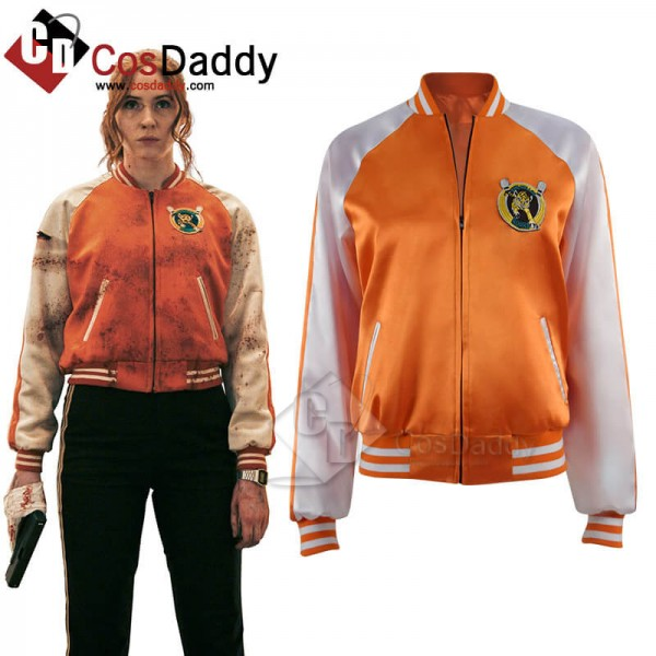 Sam Gunpowder Milkshake Karen Gillan Jacket Coat w...