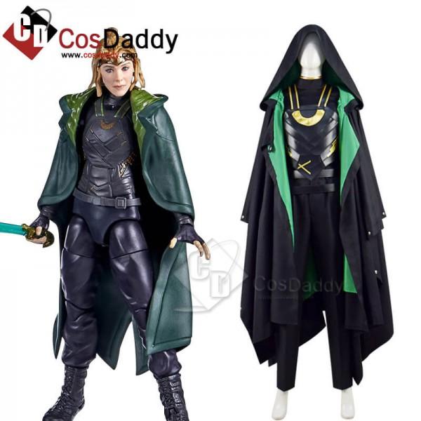 2021 Lady Loki Costumes Variant Loki Sylvie Cospla...