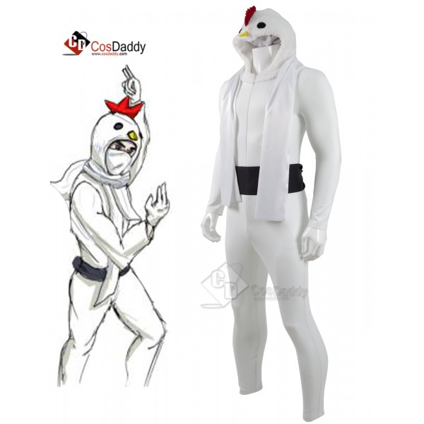 CosDaddy Chicken Attack Chicken Ninja Cosplay Costume