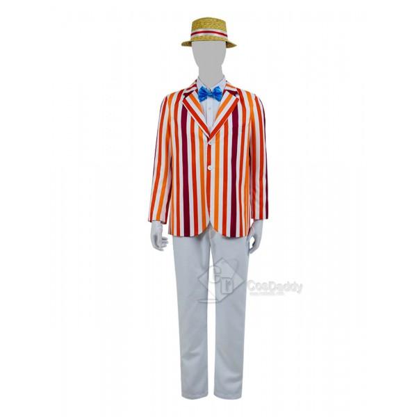 Mary Poppins Bert Cosplay Costume