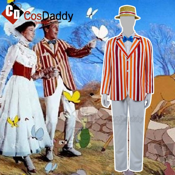 Mary Poppins Bert Cosplay Costume