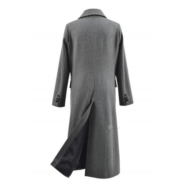 Doctor Who 13th Thirteenth Doctor Trailer Grey Coat Costume