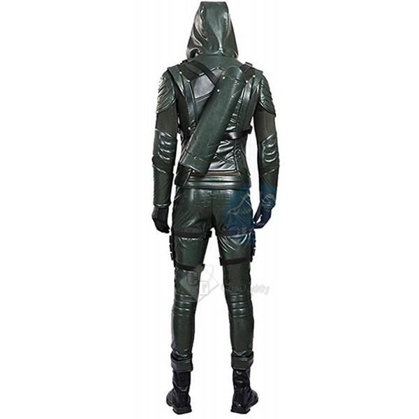 Arrow Season 5  Green Arrow Oliver Queen Cosplay Costume
