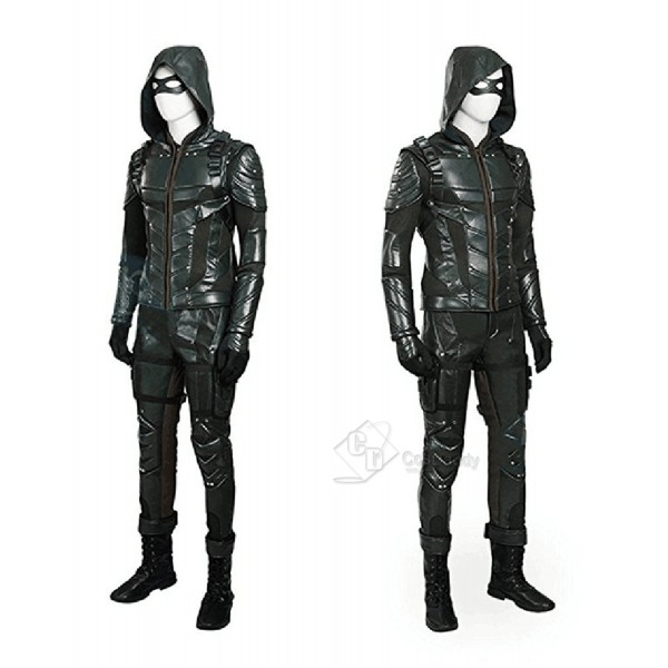 Arrow Season 5  Green Arrow Oliver Queen Cosplay Costume