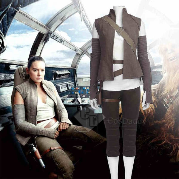 Star wars VIII  The Last Jedi Rey Costume