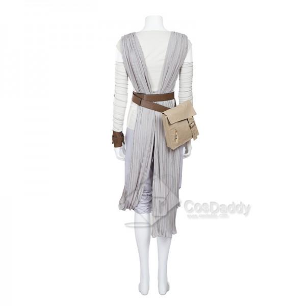 Star wars VIII the Last Jedi Rey Dress Costume