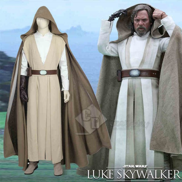 Star Wars VII the Force Awakens Luke Skywalker Cos...