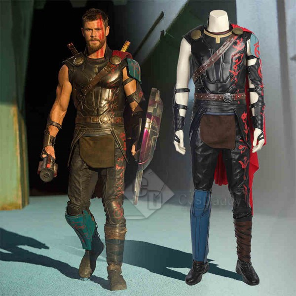 Thor: Ragnarok Costume Deluxe Thor Battle Suit  Co...
