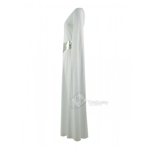 Star Wars  Princess Leia Organa White Dress Costume