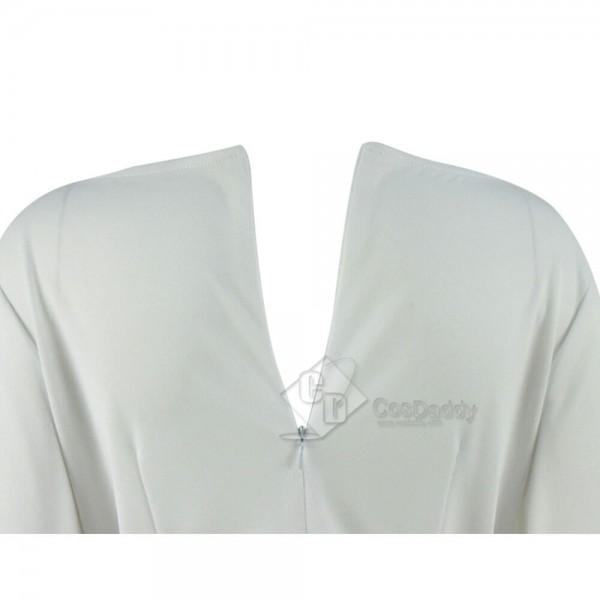 Star Wars  Princess Leia Organa White Dress Costume