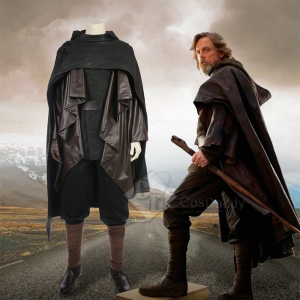 Star Wars VIII The Last Jedi Luke Skywalker Costum...