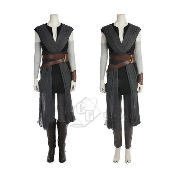 Star Wars VIII The Last Jedi Rey Cosplay Costume